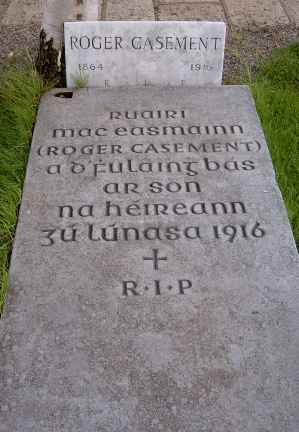 roger_casement-grave_in_glasnevin